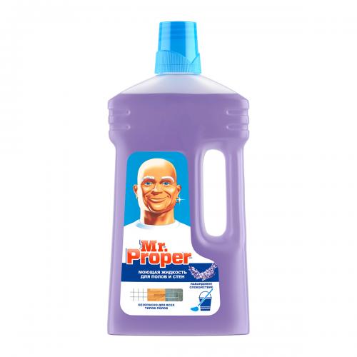 Жидкость для мытья пола Mister Proper (Мистер Пропер) 1л