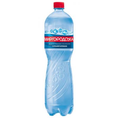 Вода мінеральна Миргородська ПЕТ газ. 1.5х6 шт.
